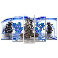 Declina - Cadre bouddha zen sur toile imprimée - Vente tableaux zen
