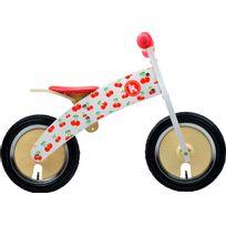 Kiddimoto - Vélo Enfant - Kurve - Draisienne - rouge/blanc
