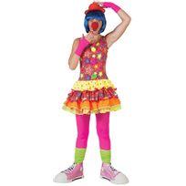 Funny fashion - Déguisement Reine des Clowns - Femme - Taille : S - 36/38