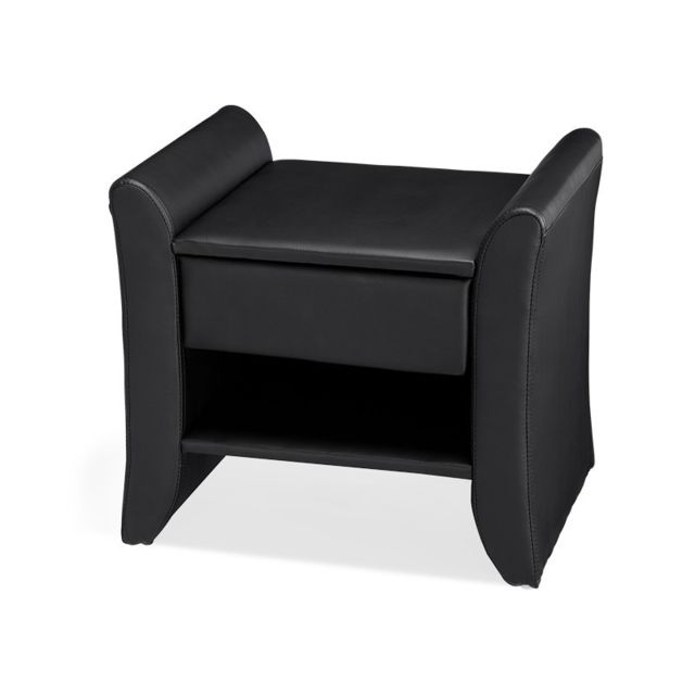 Meubler Design Table de chevet Nova - Table de nuit - Design - Noir