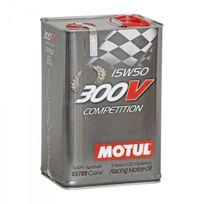 Motul - Huile Moteur 300V Competition 15W50 - Bidon de 5 L