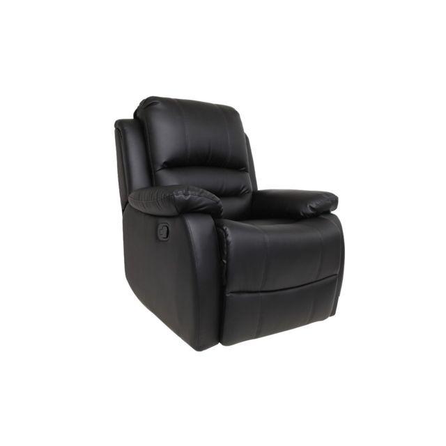 relax relax Fauteuil noir manuel Fauteuil Ted F31lKJc5uT