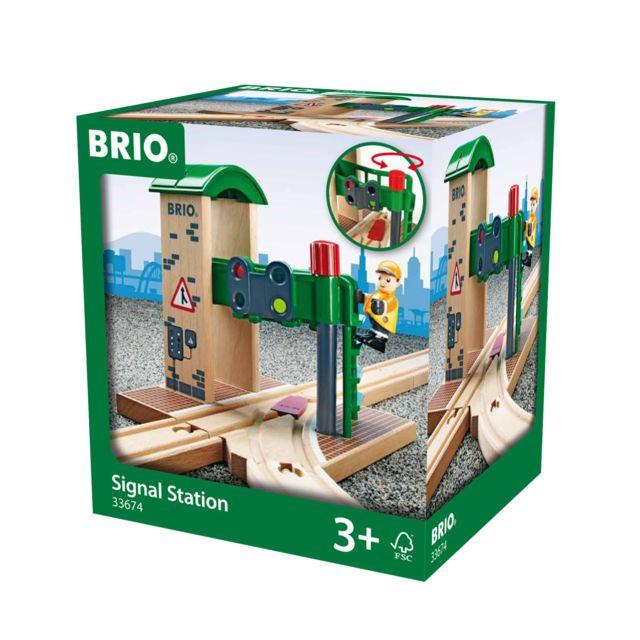 BRIO Station de contrôle & d'aiguillage - 33674