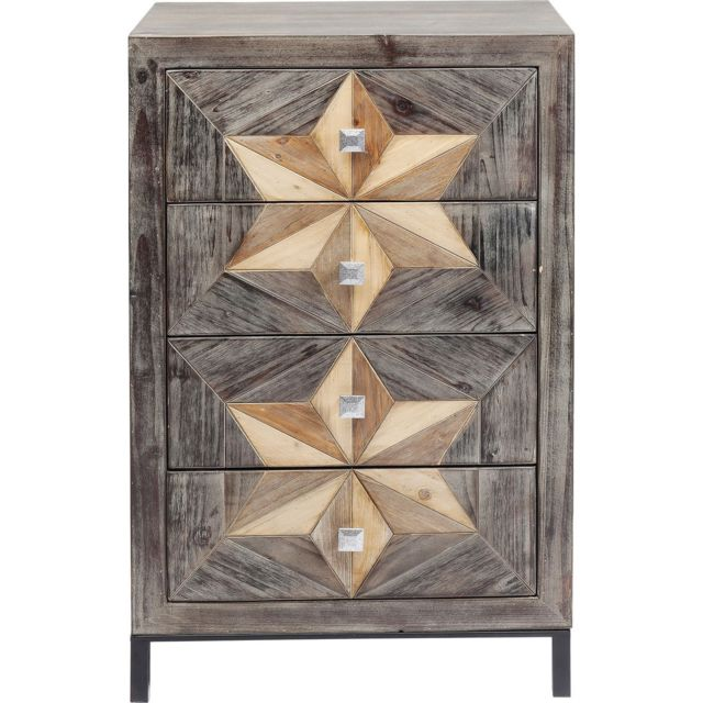 Karedesign Chiffonnier Starry 4 tiroirs Kare Design