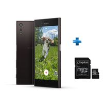 SONY - Xperia XZ Noir + Carte microSDHC 32 Go Classe 10 UHS-I + Adaptateur SD