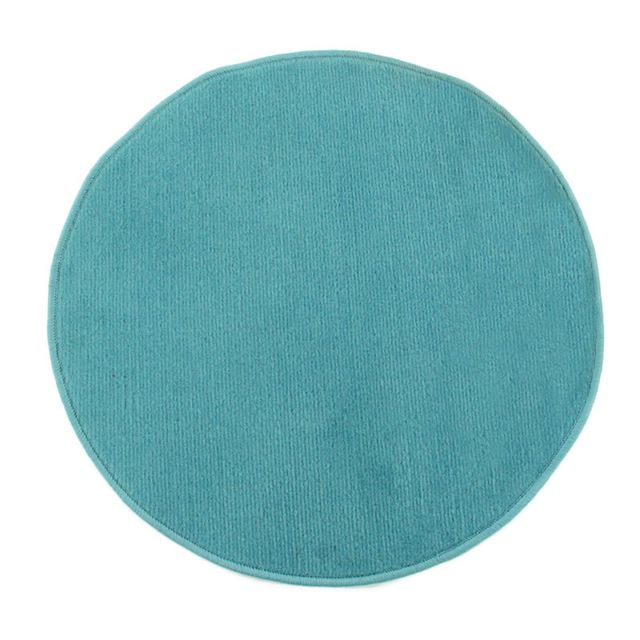 mon beau tapis tapis rond pablo diam 70cm bleu pas. Black Bedroom Furniture Sets. Home Design Ideas