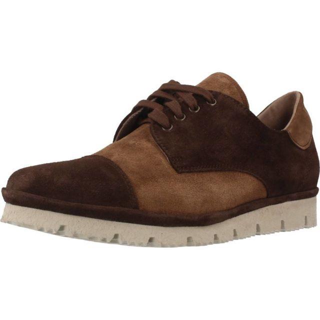 Plaju Mocassins et chaussures bateau femme 10020, Marron