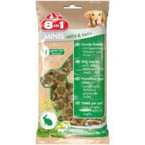 8in1 - Minis Rabbit et Herbs 100gr pour chien