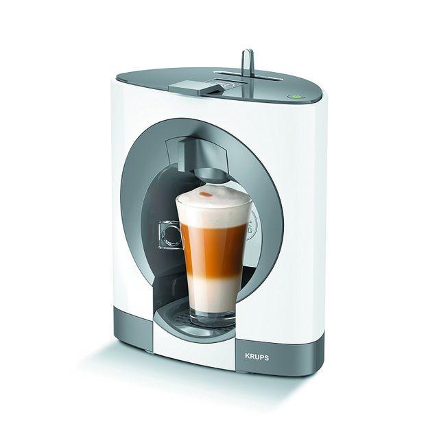 KRUPS Cafetière à capsules Dolce Gusto OBLO - YY2292FD - Système Thermoblock : préchauffage ultra rapide, pas d'attente entre chaque tasse- Pression : 15 bars- Réservoir d'eau amovible et ajustable : 0,8L- Mise en veille Auto 5 min- P