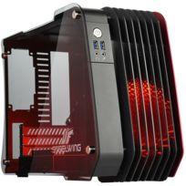 ENERMAX - Boîtier Steelwing micro-ATX Rouge
