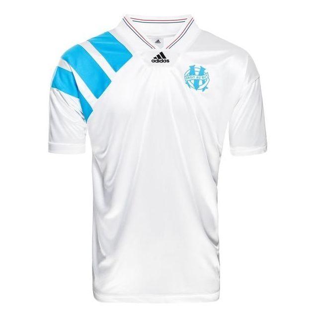 choisir l'original Garantie de satisfaction à 100% braderie Adidas - Maillot Collector Om 1993 blanc/bleu - XS - pas ...