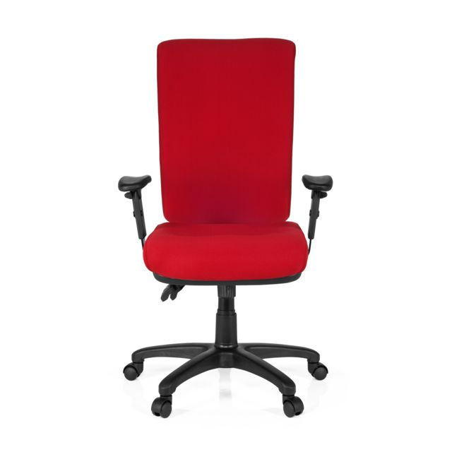 Hjh Office Siège bureau / Siège de direction Zenit High, rouge