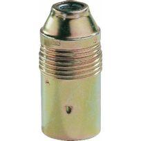 Ebenoid - Douille à visser E14 acier laitonné
