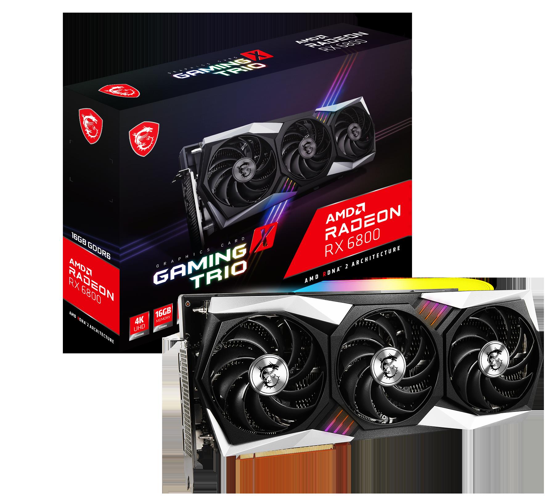 Radeon RX 6800 GAMING X TRIO