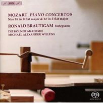 Bis - Wolfgang Amadeus Mozart - Concertos pour piano no. 18 et 22
