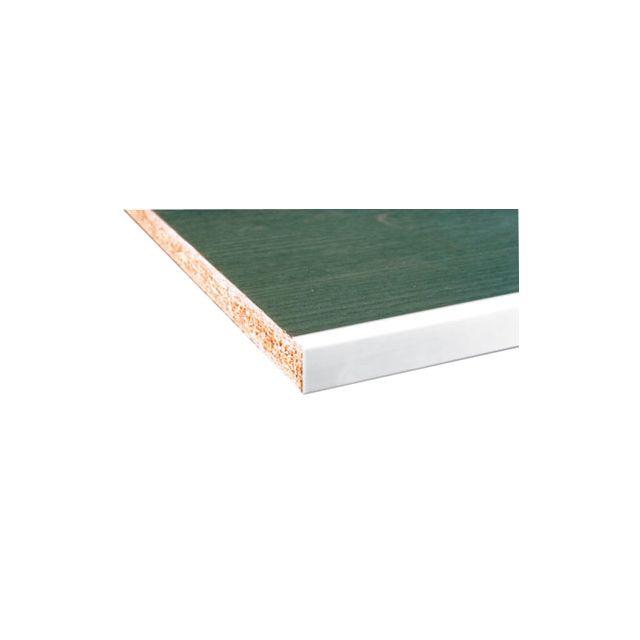 g n rique profil de chant pour habillage de panneau aluminium finition laqu blanc. Black Bedroom Furniture Sets. Home Design Ideas
