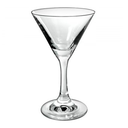 TABLE PASSION VERRE MARTINI 25 CL LOT DE 6