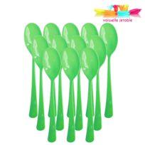 Vaisselle-jetable - Cuillères jetables 50 pièces vert