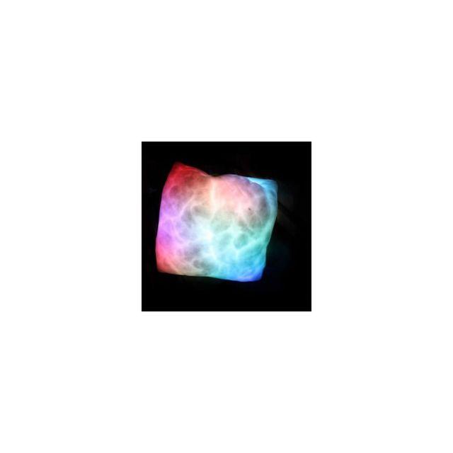 Kas Design Coussin Lumineux Multicolore, Cadeau Design