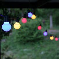 Star - Guirlande fête guinguette multicolore