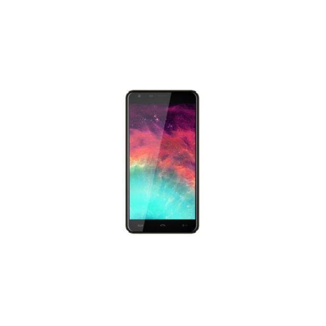 Auto-hightech Smartphone 5.5 pouces Android 6.0 Mtk6580 Quad-core 3G 1Go + 8Go - Noir