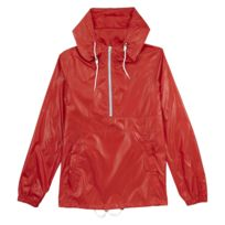 Pull and Bear - Coupe-vent imperméable Pull&Bear - Rouge