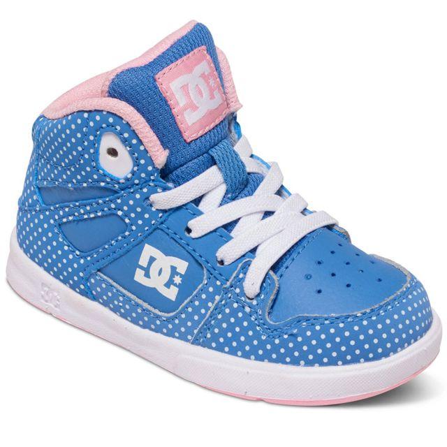 Dc - Shoes Rebound Se Ul Chaussure Bébé - Taille 21.5 - Bleu - pas cher  Achat   Vente Baskets enfant - RueDuCommerce 487741ba7dbc