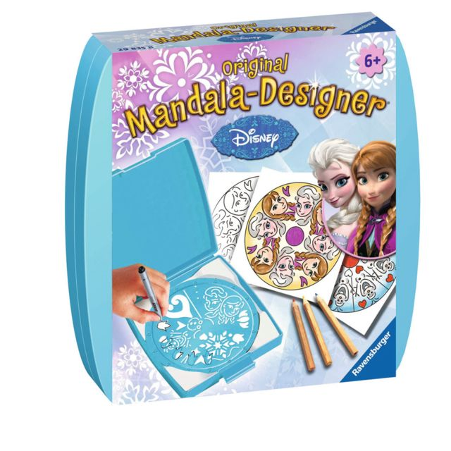 Ravensburger - Mini mandala-Designer : La Reine des Neiges Frozen