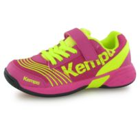 brand new 73028 c1e4c Attack Velcro rose, chaussures indoor enfant