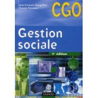 Dunod - gestion sociale ; manuel 5e édition