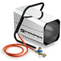 Kemper - Générateur d'air chaud à gaz 11-30 Kw Radiateur soufflant à gaz tuyau et détendeur