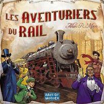 Days Of Wonder - Jeux de société - Les Aventuriers Du Rail - Usa