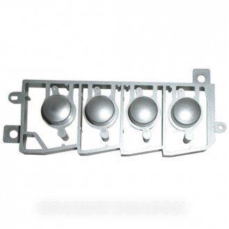Sharp Ensemble 4touches grises plastique pour micro ondes Pièce d'origine Constructeur