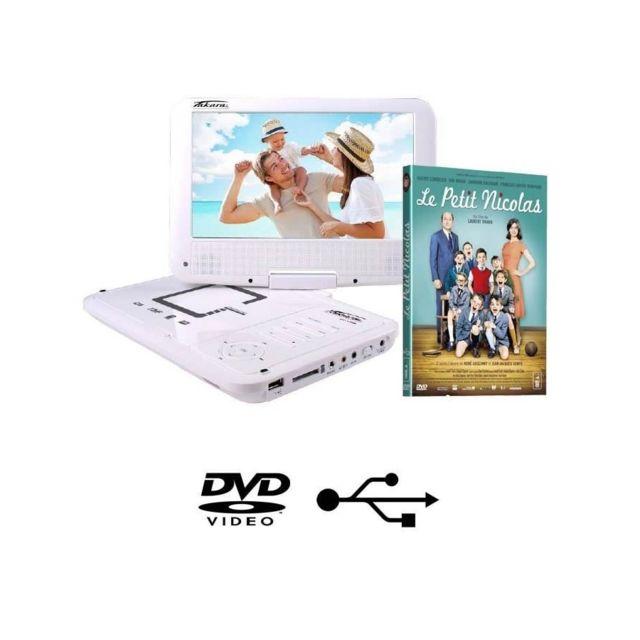 takara vr149wpk2 lecteur dvd portable 9 dvd le petit. Black Bedroom Furniture Sets. Home Design Ideas