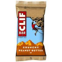 Clif Bar - Barre énergétique - Beurre de cacahuètes avec morceaux