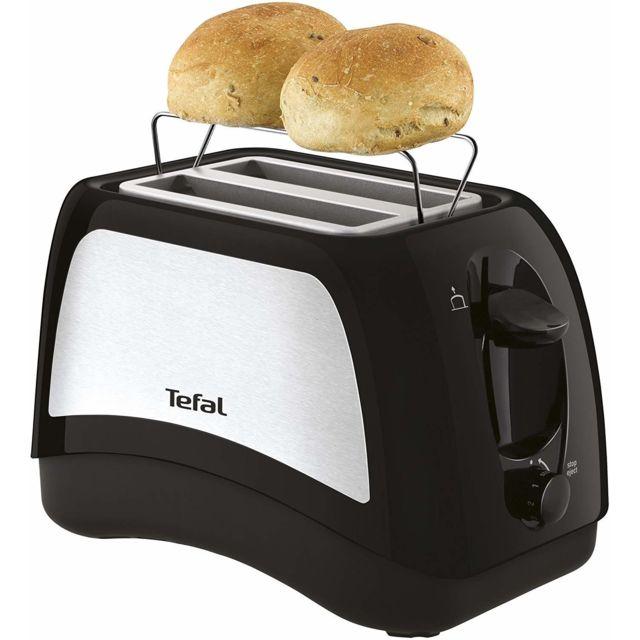 Tefal Grille pain avec 2 fentes 850W gris noir