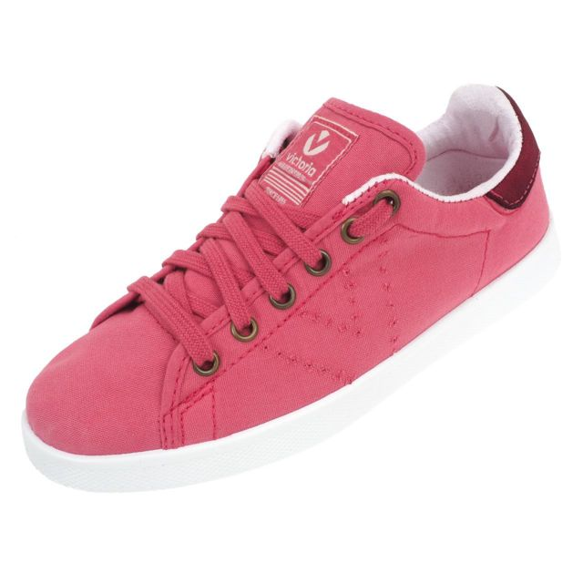 Victoria 77395 Rose Basses Chaussures Lona Toile Framboise