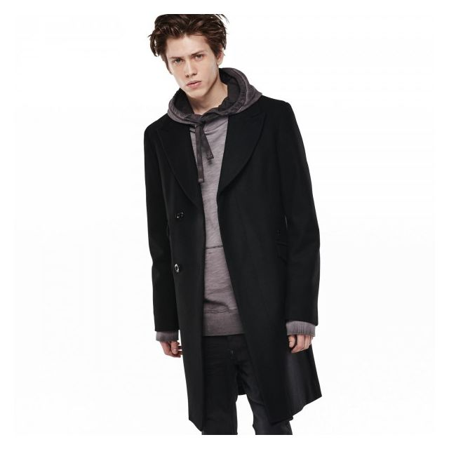 design de qualité d2fd8 2a239 Manteau G-star Midnight Wool Black - Taille - S