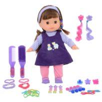 Calinou - Poupée avec accessoires de mode : Violet