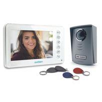 AVIDSEN - Interphone vidéo couleur + 4 badges RFID - 112249