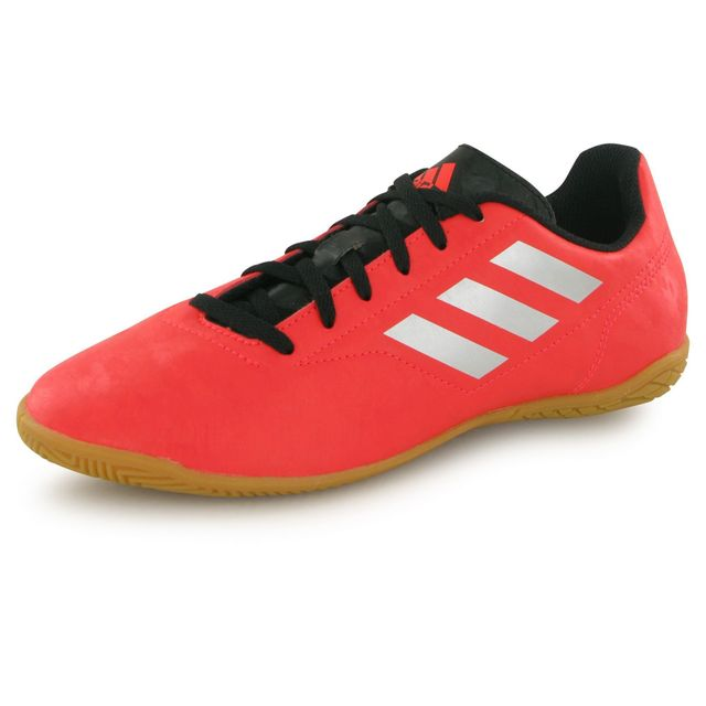 mixte Conquisto football rouge Indoor Ii chaussures de Adidas x46wA4