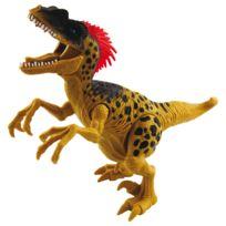 Chap Mei - Figurine Dino Valley sonore : Velociraptor beige
