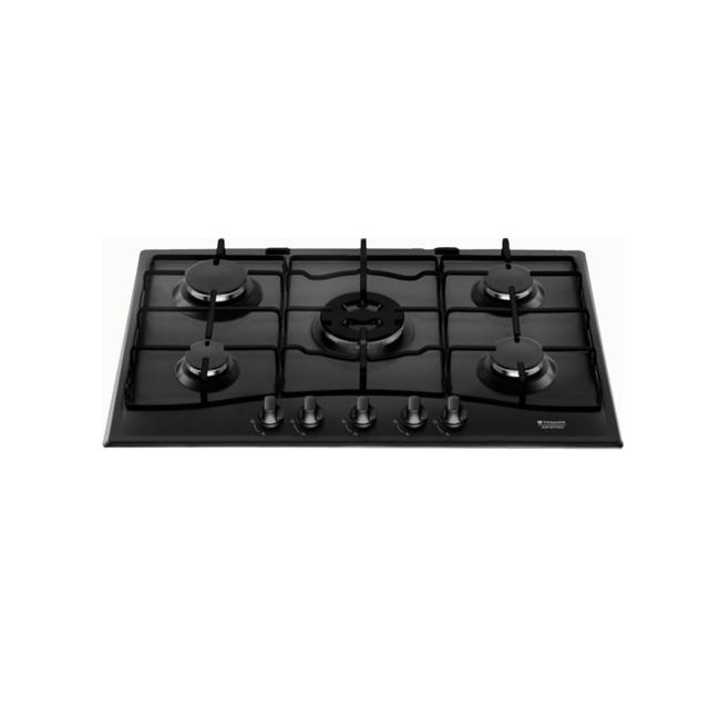hotpoint table cuisson gaz 75cm newstyle pcn752t ha bk achat plaque de cuisson gaz. Black Bedroom Furniture Sets. Home Design Ideas