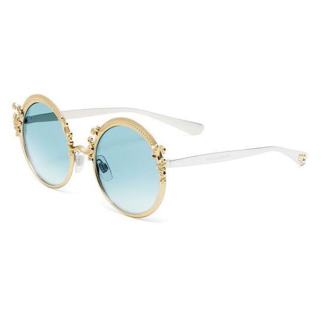 Dolce   Gabanna - Lunettes de soleil Dolce   Gabbana Dg2177 02 65 Doré.  Couleur   Noir 376703699c07