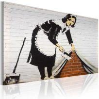 Bimago - Tableau - Femme de ménage Banksy