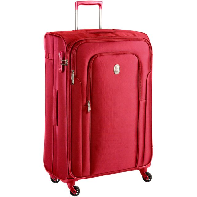 delsey valise souple nunki 78 cm rouge pas cher achat vente valises trolleys. Black Bedroom Furniture Sets. Home Design Ideas