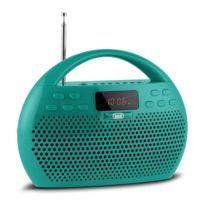 TREVI - KB 308 BT Radio numérique bluetooth microSD USB -vert
