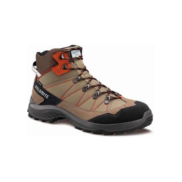 3fc99f5d0c82a Dolomite - Chaussures de marche Tovel Wp marron noir femme - pas cher Achat  / Vente Chaussures moyenne rando - RueDuCommerce