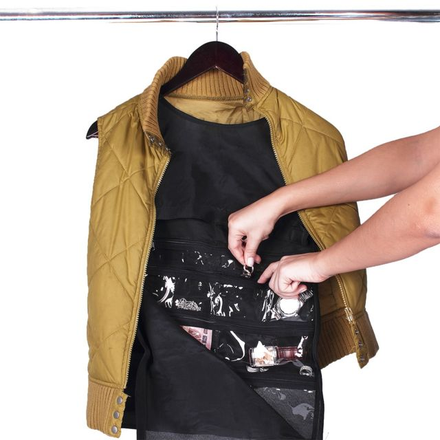 astuceo d bardeur cachette pour objets pr cieux noir m pas cher achat vente chemise. Black Bedroom Furniture Sets. Home Design Ideas