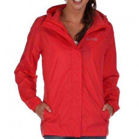 REGATTA - Coupe-Vent Imperméable Pack It Rouge Femme - pas cher Achat   Vente  Veste femme - RueDuCommerce 4338edb2390d